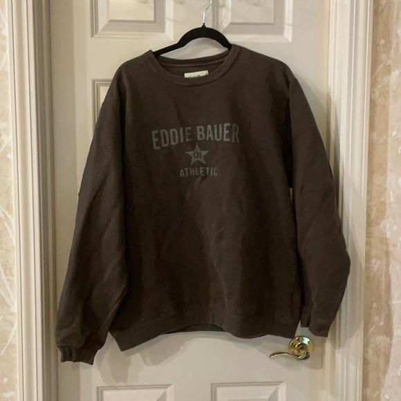 Vintage y2k Eddie Bauer sweatshirt size large